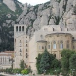 The monastery, church and museums at Monserrat